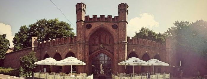 Росгартенские ворота / Rossgarten Gate is one of Mihail : понравившиеся места.