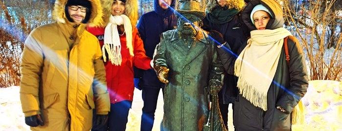 Памятник Степану Писахову is one of 🔷 Архангельск.