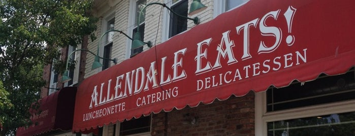 Allendale Eats is one of Comedians Getting Coffee.