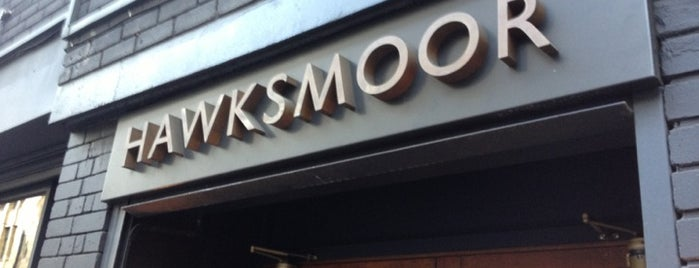 Hawksmoor Spitalfields is one of Manchester.