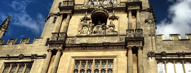 Bodleian Library is one of UK Film Locations.