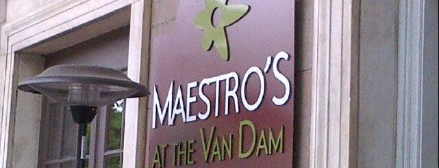 Maestro's at the Van Dam is one of Locais salvos de A.