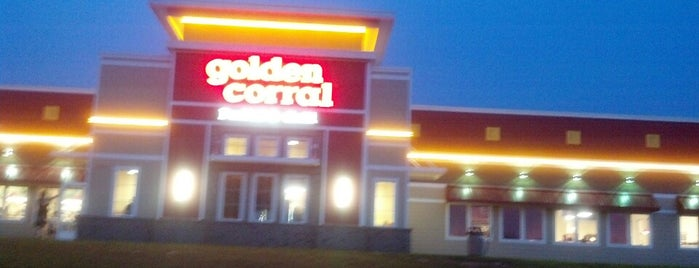 Golden Corral is one of Gさんの保存済みスポット.