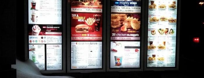 McDonald's is one of Gespeicherte Orte von G.