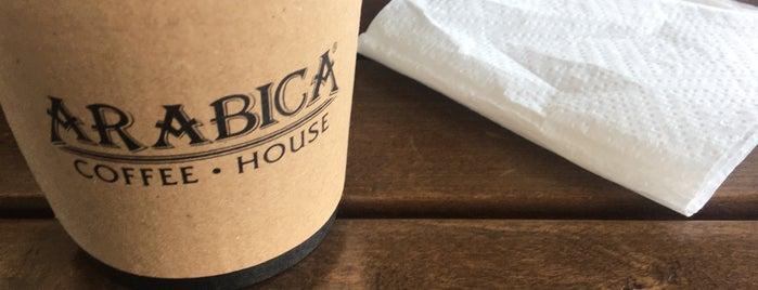 Arabica Coffee House is one of Gidilecek Yerler-Khanler.