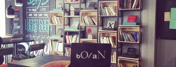 bOtaN is one of коворкинги.