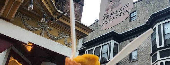 Franklin Ice Cream Bar is one of Philadelphia.