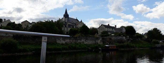 Candes-Saint-Martin is one of Les plus beaux villages de France.