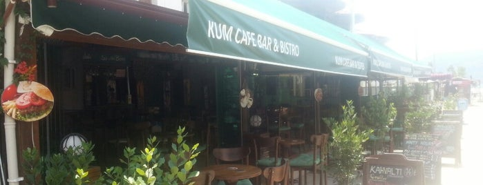Kum Cafe Bar & Bistro is one of Akyaka mugla.