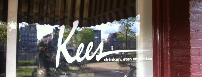 Cafe Kees is one of Fem's Fav's.
