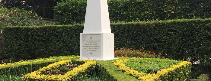 U.S. National Cemetery is one of CDMX: San Rafael/Santa María La Ribera.