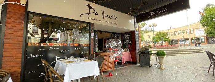 Da Vinci's Italian Restaurant is one of Sydney - coffee & all things sweet.