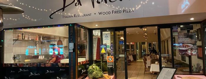 Da Vinci's Italian Restaurant is one of to-do list.