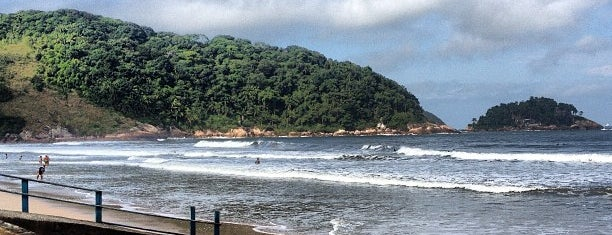 Praia do Guaiúba is one of Praias do Guarujá.