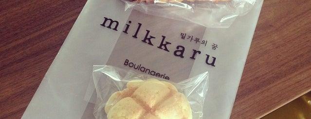 Milkkaru is one of yumyumyum.