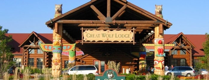 Great Wolf Niagara is one of Lieux sauvegardés par Suzanne E.