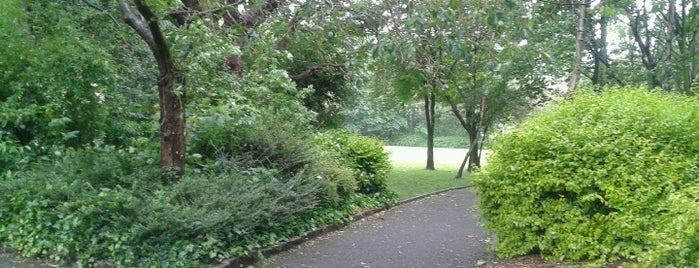 Merrion Square Park is one of In Dublin's Fair City (& Beyond).