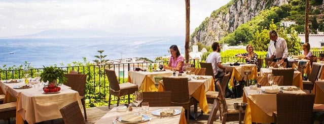 Ristorante Panorama is one of Capri Italy.