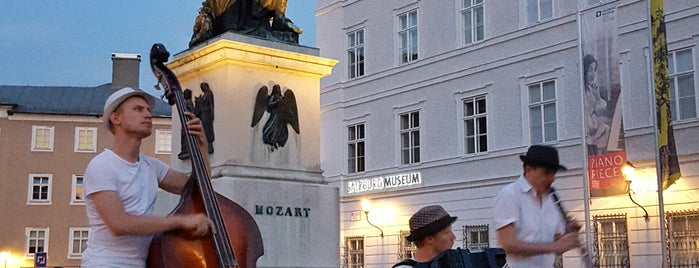 Mozartplatz is one of Salzburg.