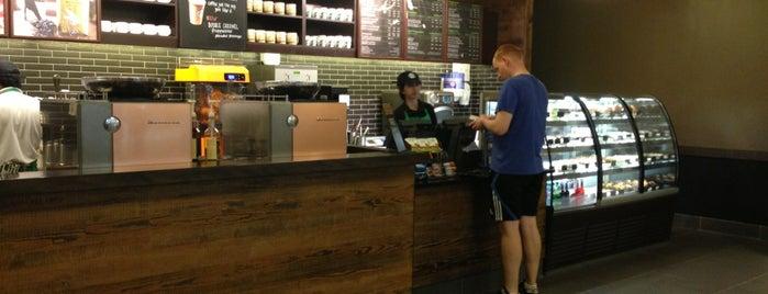Starbucks is one of Orte, die maryam gefallen.