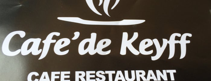 Cafe'de Keyff is one of Lugares guardados de Gizemli.