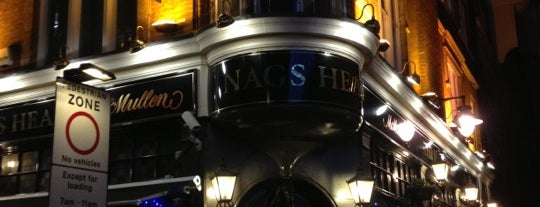 The Nag's Head is one of Londres.