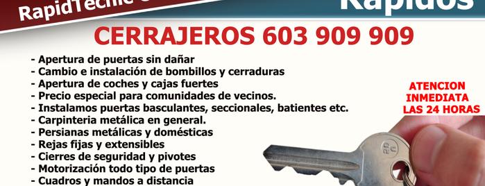 Cerrajeros Torredonjimeno 24 horas is one of Orte, die RapidTecnic 603 908 603 gefallen.