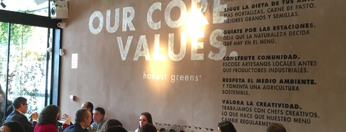 Honest Greens is one of Madrid.