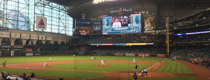 Minute Maid Park is one of MLB Stadium Quest.