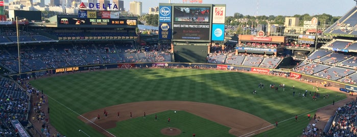 Turner Field is one of MLB Stadium Quest.