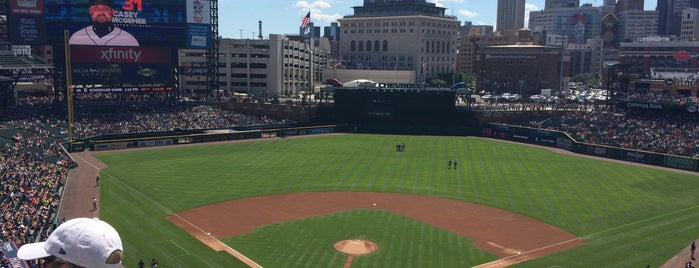 Comerica Park is one of MLB Stadium Quest.