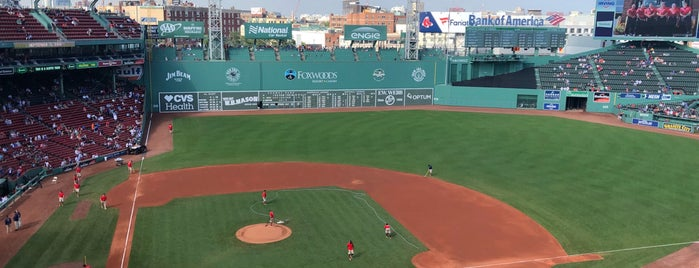Fenway Park is one of MLB Stadium Quest.