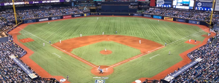 Tropicana Field is one of MLB Stadium Quest.