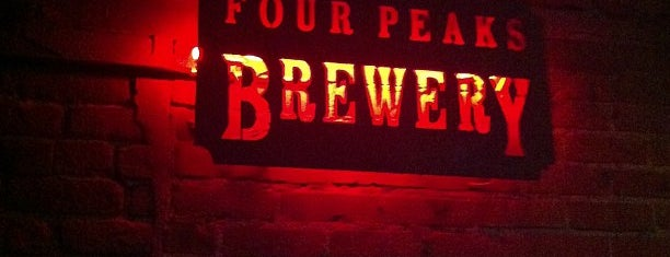 Four Peaks Brewing Company is one of Mission: Arizona.