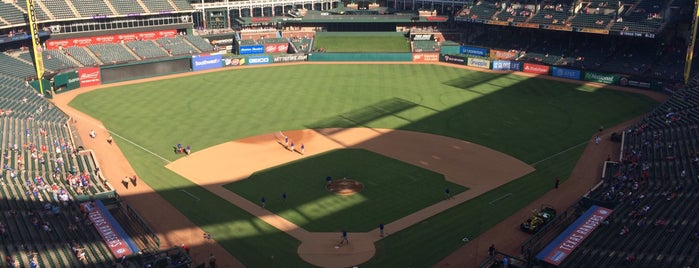 Globe Life Park in Arlington is one of MLB Stadium Quest.
