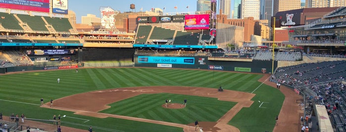Target Field is one of MLB Stadium Quest.