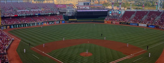 Great American Ball Park is one of MLB Stadium Quest.