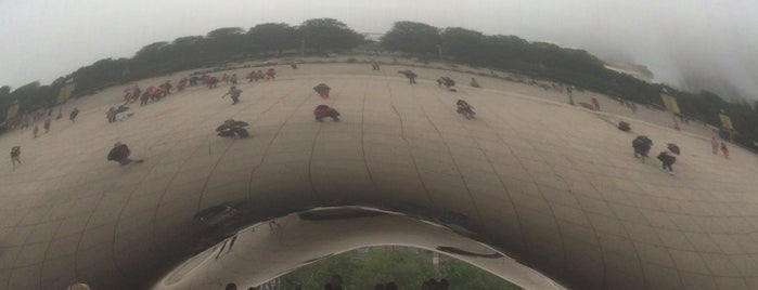 Cloud Gate by Anish Kapoor is one of Mission: Chicago.