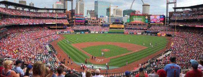 Busch Stadium is one of MLB Stadium Quest.