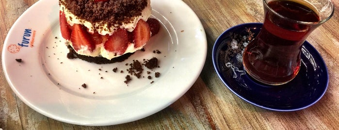 Furun Cafe & Patisserie is one of Engin'in Beğendiği Mekanlar.