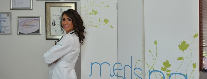 Dra. Lisette Hinojos (Medspa Day Care) is one of Spas.