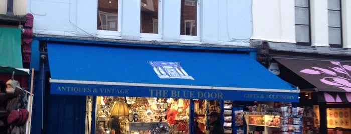 The Blue Door Is One Of London