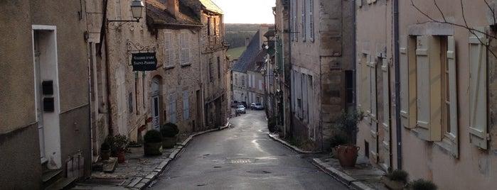 Vezelay Village is one of Les plus beaux villages de France.