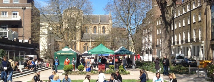 Bloomsbury Farmers' Market is one of Lizさんのお気に入りスポット.