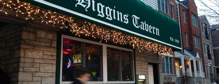 Higgins' Tavern is one of Best Bars in Chicago to watch NFL SUNDAY TICKET™.