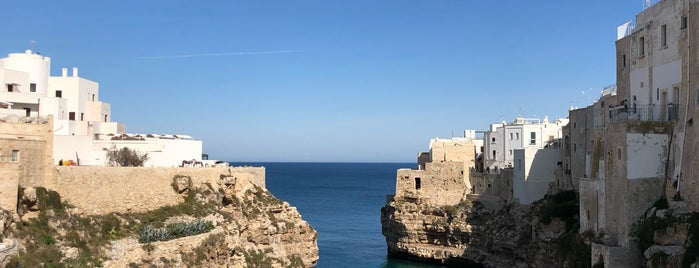 Polignano a Mare is one of Bari to check.