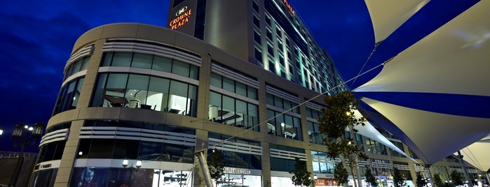 Crowne Plaza Istanbul - Asia is one of Locais salvos de Oguz.