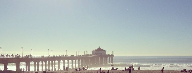 Downtown Manhattan Beach is one of Going Back To Cali...Again.