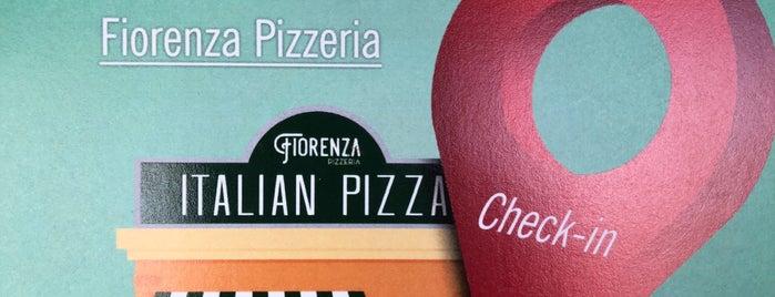 Fiorenza Pizzeria is one of Tempat yang Disukai evren.