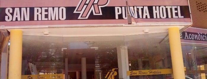 San Remo Hotel Punta is one of Punta Del Este.